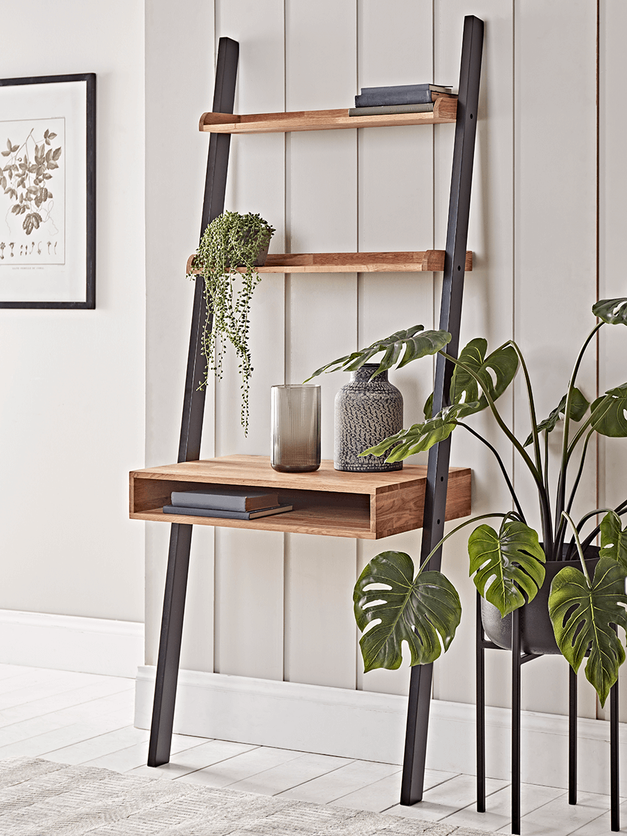 Oak Ladder Desk