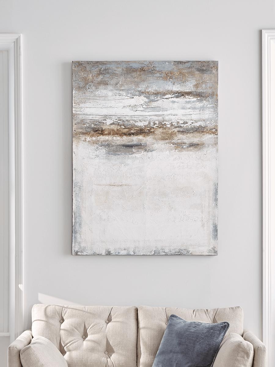 Abstract Bay Canvas