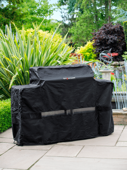 Gourmet Stainless Steel BBQ Cover - 6 Burner