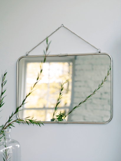 French Hanging Mirror