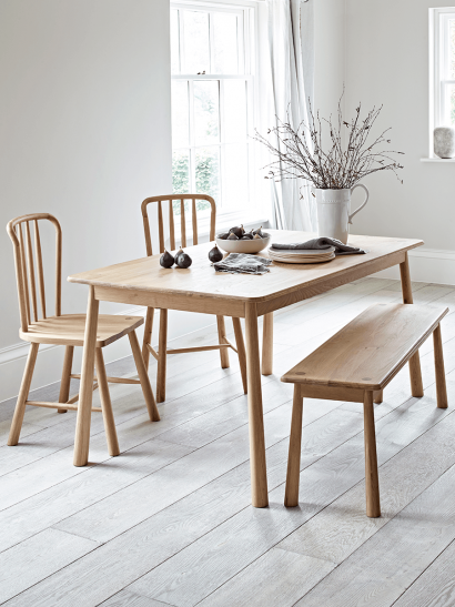 Bergen Oak Dining Table - Natural