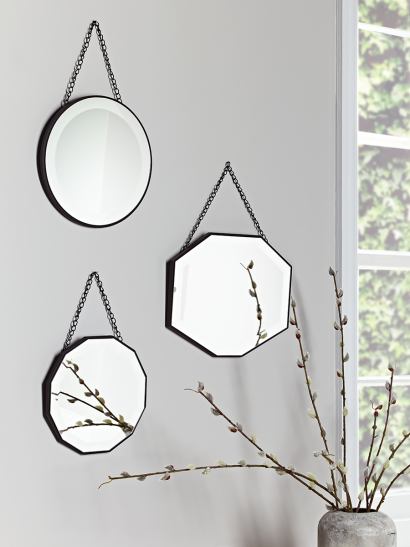 Three Vintage Mirrors