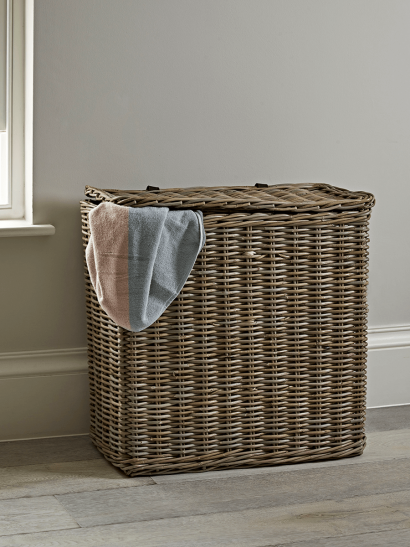 Rectangle Rattan Laundry Basket