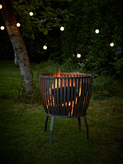 Industrial Style Fire Pits