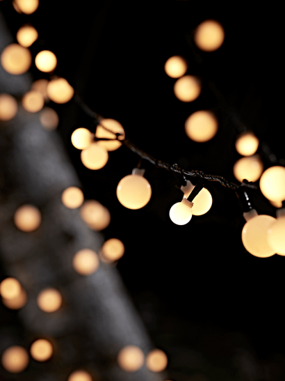 Outdoor Cherry String Lights