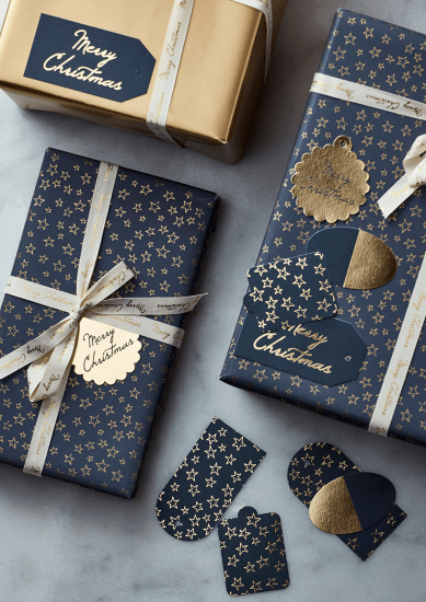 Gold Star Gift Tags
