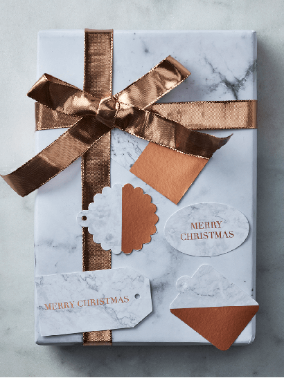 Marble Gift Tags