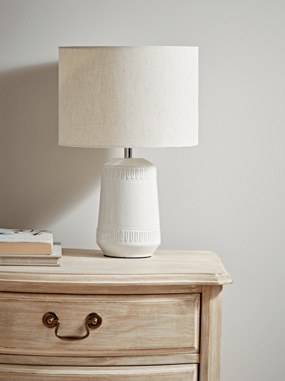 Soft Geometric Bedside Lamp