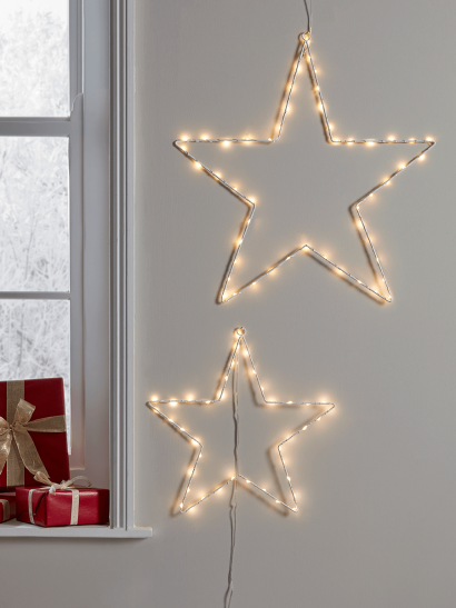 Indoor Outdoor Star Silhouette Lights