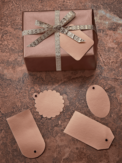 Opulent Copper Gift Tags