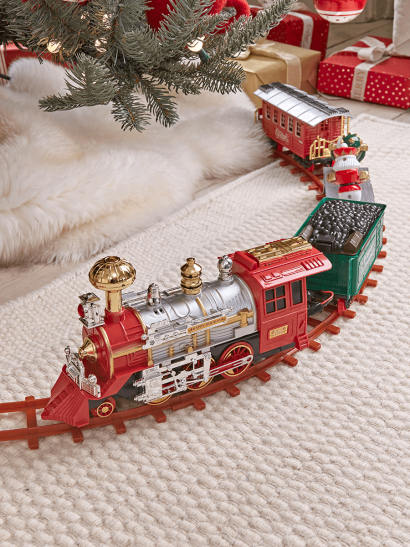 Nutcracker Tree Train
