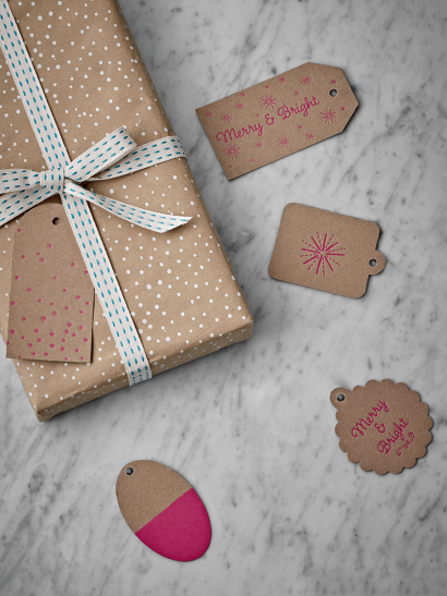Merry & Bright Gift Tags