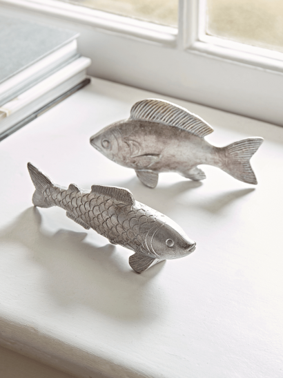 Two Silver Fish