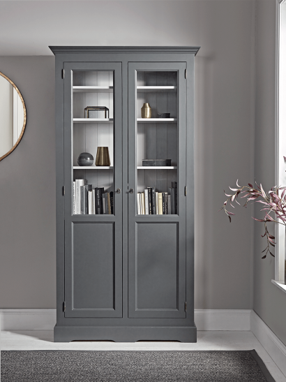 Mette Tall Display Cabinet