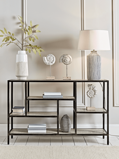 Industrial Display Console Table