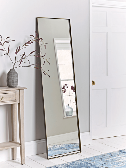 Bronze Frame Full Length Mirror