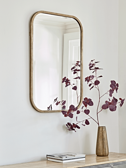 Rounded Edge Wall Mirror