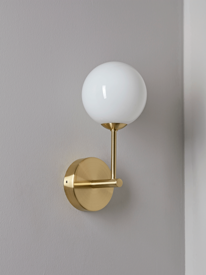 NEW Deco Globe Wall Light