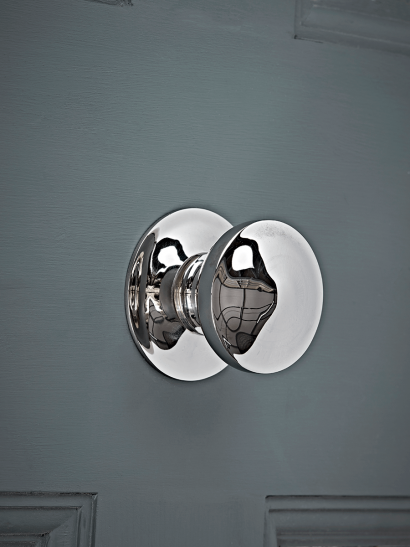 Nickel Centre Door Knob