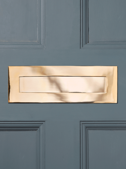 Solid Brass Letter Plate
