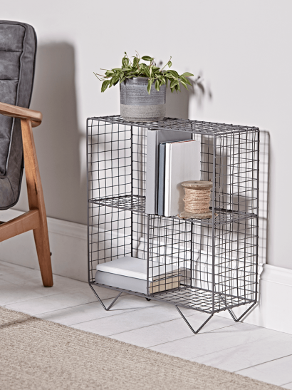 Open Wire Cube Shelf Unit