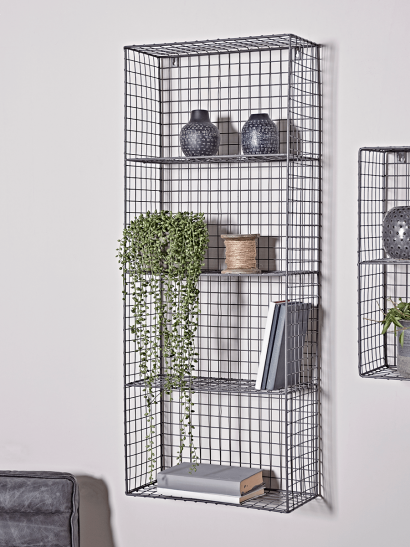 Open Wire Wall Rack - Large