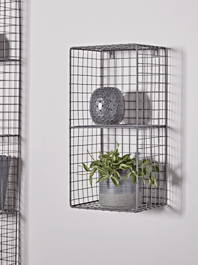 Open Wire Wall Rack - Small