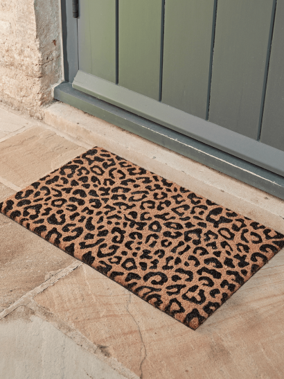 NEW Leopard Print Doormat - Medium