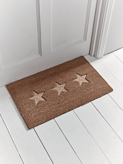 Embossed Stars Doormat - Medium