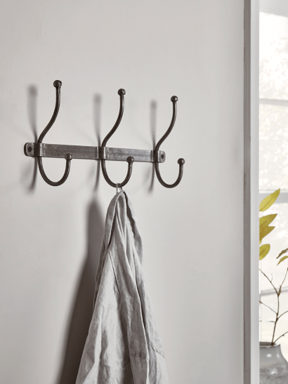 NEW Distressed Industrial Metal Hooks - Small