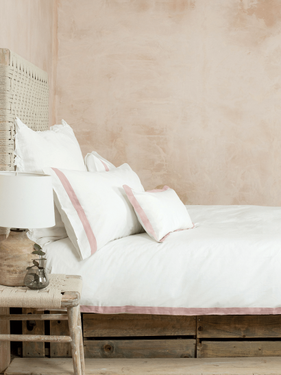 Cotton & Linen Bedding - Vintage Rose