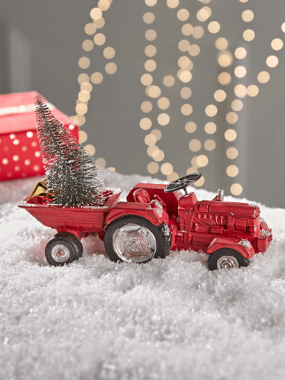 NEW Christmas Tractor