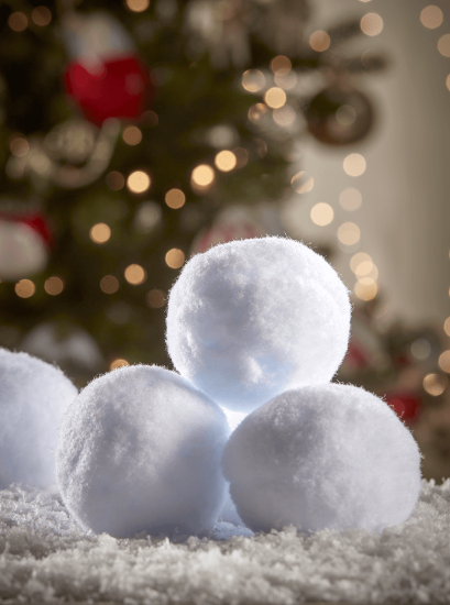 NEW Fun Faux Snowballs