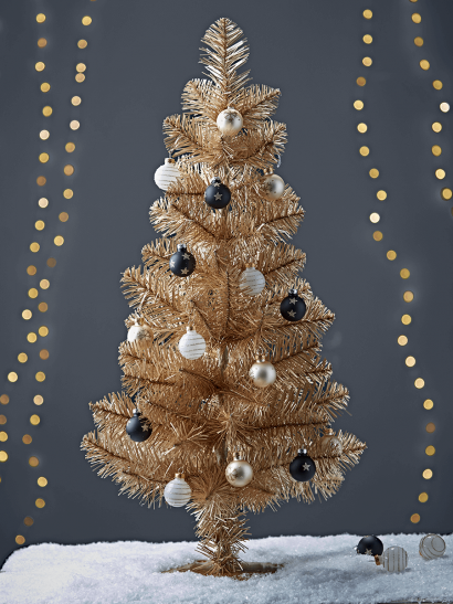 NEW Golden Spruce Mini Tree