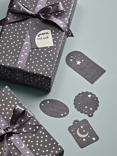 Moon & Back Gift Tags