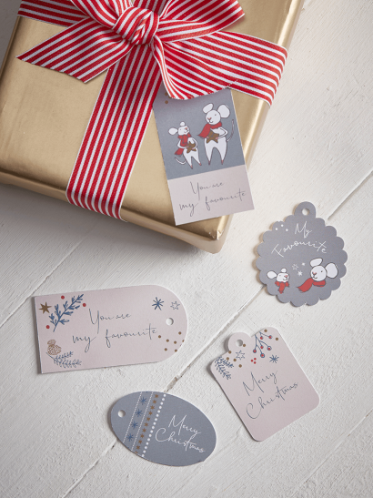 Favourite Little Mouse Gift Tags