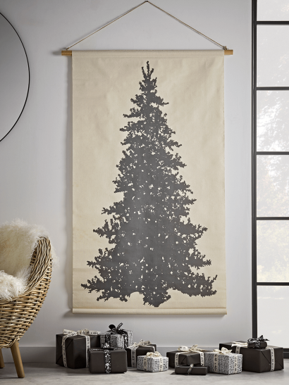 NEW Silhouette Tree Hanging Canvas