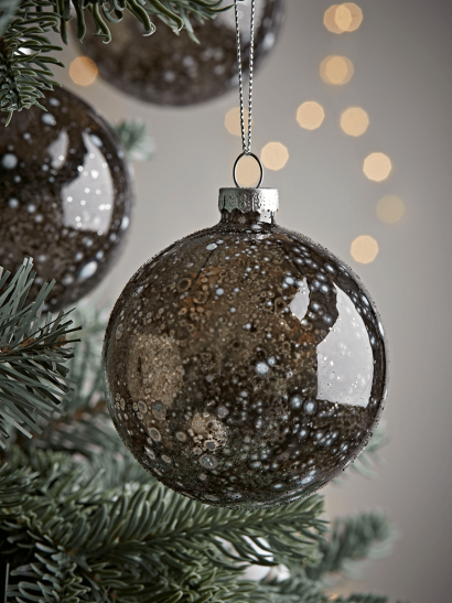 Six Speckled Baubles