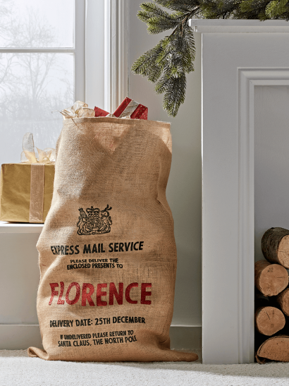 DIY Personalised Christmas Sack