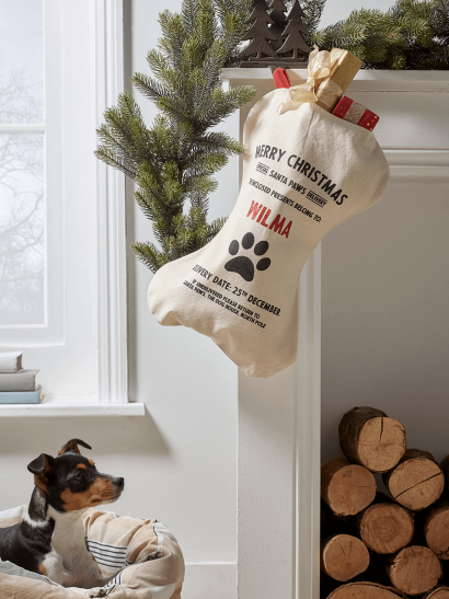DIY Personalised Pet Stocking