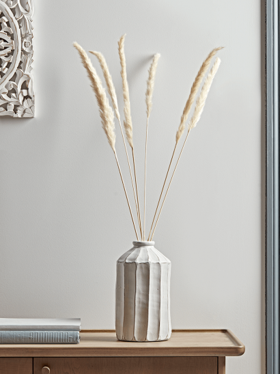 NEW Six Dried Pampas Grass Stems