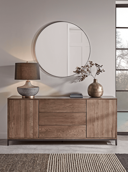 Burnt Oak Sideboard