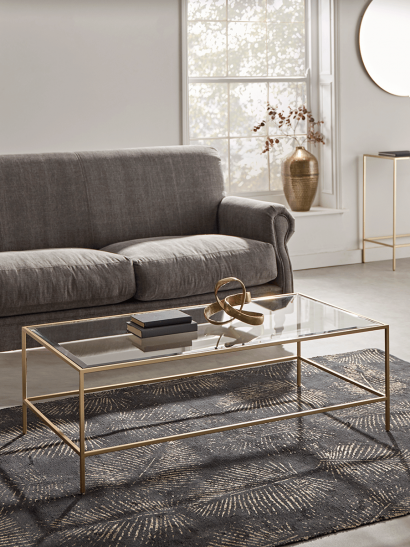 Villette Coffee Table - Soft Gold