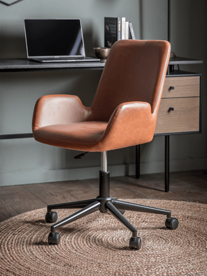 NEW Belmont Office Chair - Tan