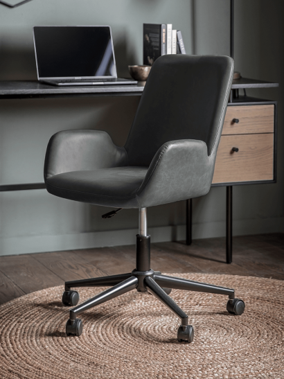 NEW Belmont Office Chair - Charcoal