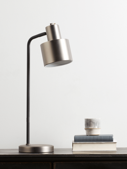 NEW Lewes Desk Lamp - Burnished Silver