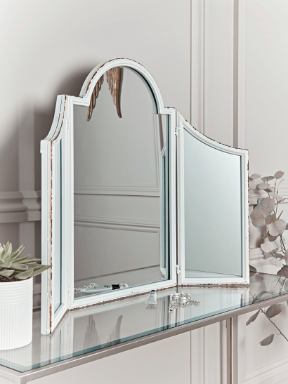 Distressed Dressing Table Mirror