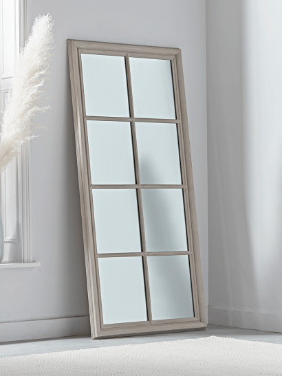 NEW Distressed Rectangle Window Mirror