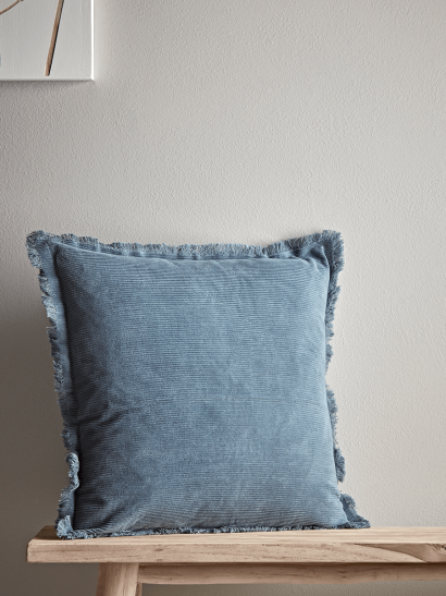 NEW Fringe Corduroy Cushion