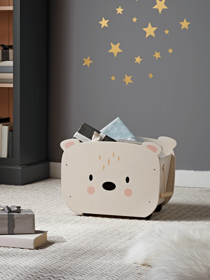 Pull Along Storage Box - Bear